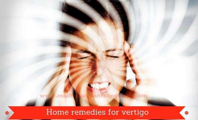 Home remedies for vertigo, causes and symptoms