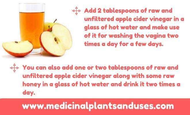 apple cider vinegar for vaginosis