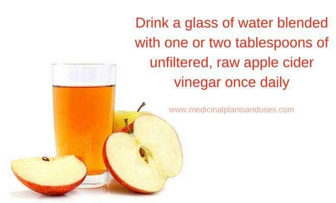 apple cider vinegar to cure leukorrhea