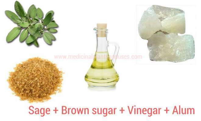 Sage to cure sore throat
