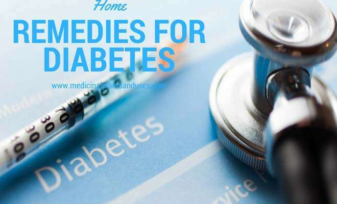 Effective home remedies for diabetes