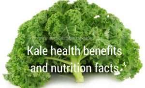 Kale health benefits and nutrition facts