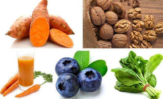 superfoods to improve vision