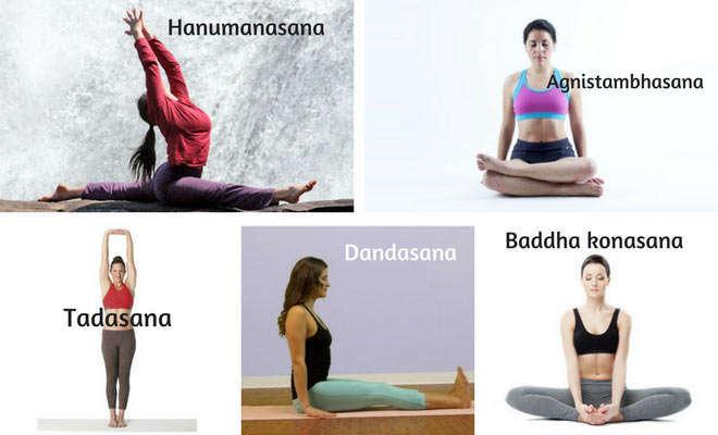 Yoga asanas for Sciatica pain
