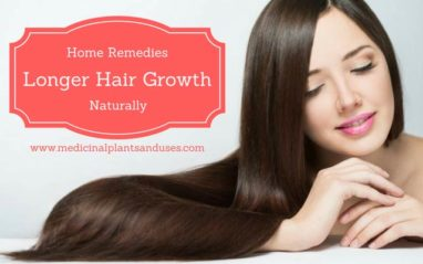 Home remedies for longer hair growth