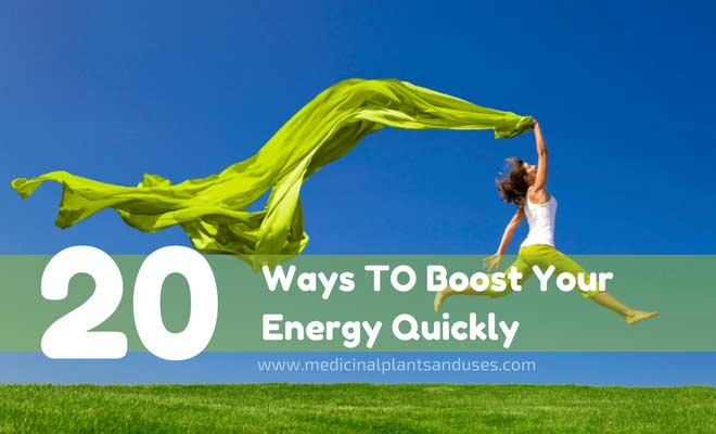 Natural Ways to Boost Your Energy Quickly
