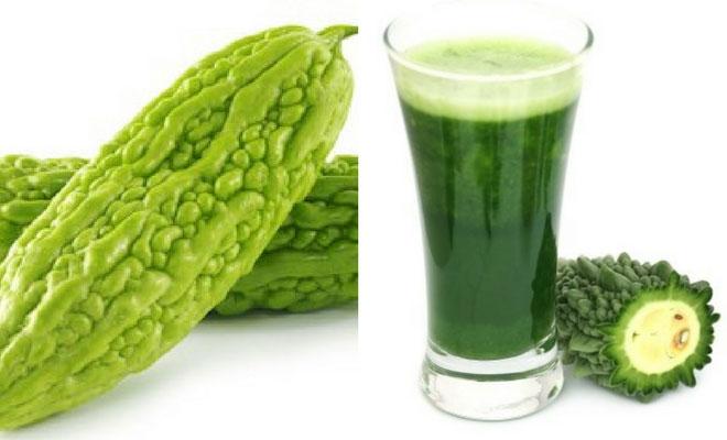 karela fruit and juice
