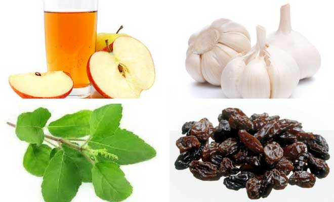 natural food to cure fever