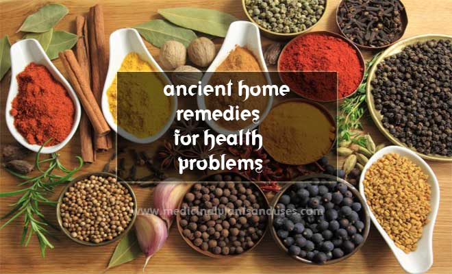 ancient home remedies for health problems