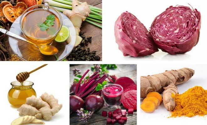 liver healthy foods