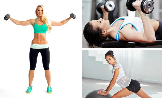 Exercise to reduce breast fat