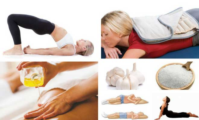 Effective lower back pain relief treatment at home